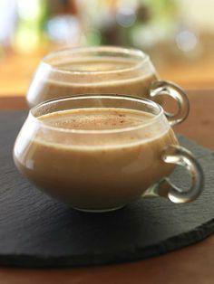 A healthy pumpkin spice latte recipe!