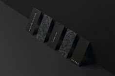Japanese art director & designer Yuta Takahashi has created this beautiful black branding for Guell. Full article & more images on Minimalissimo. Grid Design, Minimal Design, Graphic Design, Urban Taste, Price Tag Design, Layout, Print Packaging, Creating A Brand, Packaging Design Inspiration