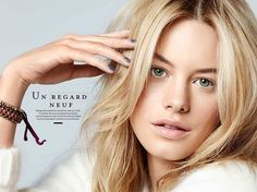 Camille Rowe Poses for Alexandre Weinberger in Be Magazine's November Issue