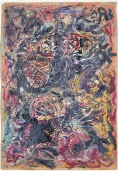Jackson Pollock - experienced and was also tormented by his fears and bad dreams in the 20th century. A kindred spirit to Van Gogh.