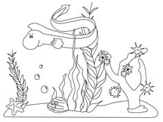 25 Best Ocean Coloring Pages Images Coloring Books Vintage