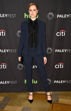 "Evan Rachel Wood Continues her Pantsuit Revolution at the PaleyFest ""Westworld"" Panel | Tom + Lorenzo"
