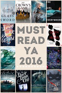 Must read #YA books for 2016! Woot woot, Queen of Hearts!! #ColleenOakes