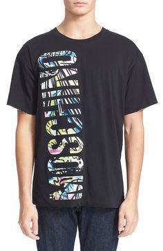 MOSCHINO Print Reversible T-Shirt. #moschino #cloth #