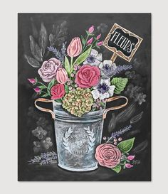 Fleurs - Print