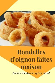 Beignets, Les Croquettes, Onion Rings, Tupperware, Dire Non, Sandwiches, Food And Drink, Appetizers, Vegan
