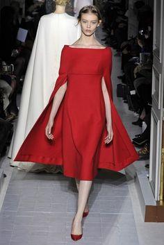 Valentino Fashion show details