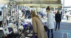 Rommelmarkt Sint Jansvliet, Antwerpen | Mooistestedentrips.nl. Leuke tips voor een weekendje Antwerpen.
