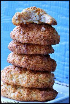 Clean Eating Almond Honey Cookies