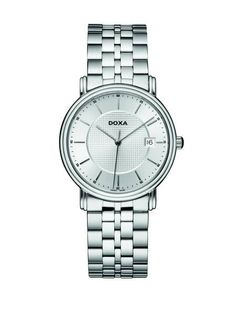 Doxa New Royal / 221.10.021.10 Oras, Watches, Silver, Accessories, Beautiful, Products, Wristwatches, Clocks, Gadget