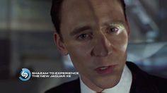 Tom Hiddleston. #Jaguar Via Torrilla.tumblr.com