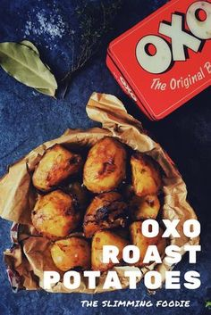 A delicious and easy way to make the perfect tasty roast potatoes using beef Oxo cubes! Slimming World friendly, low fat and perfect for a Sunday roast! Slimming World Recipes Syn Free, Slimming World Diet, Slimming Eats, Slimming World Roast Potatoes, Perfect Roast Potatoes, Skinny Recipes, Healthy Recipes, Diet Recipes, Healthy Food