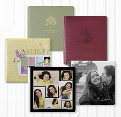 Customize your photo album with EASY to use full-bleed imprinting using your choice of favorite photos, templates or designs.