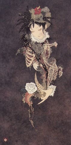 Takato Yamamoto -Horn of a Master of Curses- scan from Rib of a Hermaphrodite