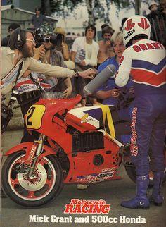 Mick Grant Honda NR500