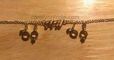 Carolyn Nicole Designs - HotWife Anklet by Carolyn Nicole Designs