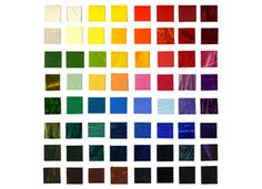 UK supplier...Jacksons  R & F HAND painted colour chart - Encaustic