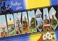 Arkansas - Vereinigte Staaten von Amerika / United States of America / USA