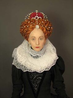haute couture fashion Archives - Best Fashion Tips Renaissance Hairstyles, Historical Hairstyles, Renaissance Fashion, Elizabeth I, Dress Dior, 16th Century Fashion, Elizabethan Era, Vintage Hairstyles, Stylish Hairstyles