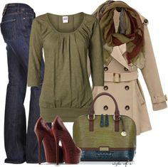 """Red, Green, Blue"" by styleofe on Polyvore"