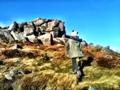 Child friendly walk up carl wark. Child Friendly, Derbyshire, Mount Rushmore, Mountains, Landscape, Places, Nature, Travel, Scenery