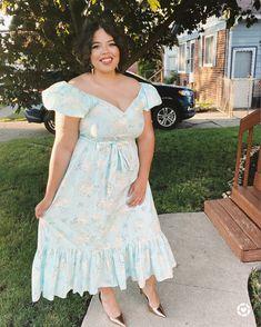 Floral Dress, Summer Dress, Target, Princess Dress, Love Shack Fancy , Plus Size Dress, Floral Dresses Floral Dresses, Dress Summer, Plus Size Fashion, Latest Fashion, Target, Shoulder Dress, Fancy, Princess, Blog