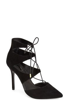 Topshop 'Gloss' Pointy Toe Pump (Women) available at #Nordstrom