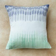 Comb Ikat Pillow - Uzbekistan | Far & Wide Collective