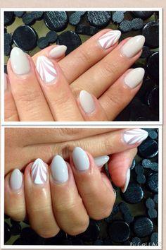 Stiletto Nails #NailsbyJenna #FallColor #2014NailTrend