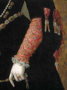 Élisabeth de Valois, by Juan Pantoja de la Cruz, 1565