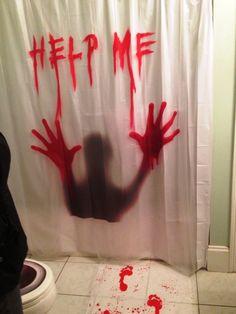 Halloween Bathroom Decorations