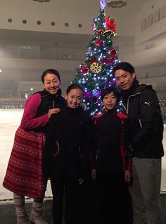 With Mao Asada,Yuna Aolo,Sena Miyake(JAPAN) : XOI2014
