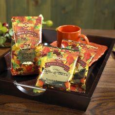 Door County Coffee - Pumpkin Spice Coffee http://www.doorcounty.com/newsletter/2013/09/2876/