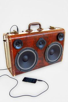 BoomCase The Traveler Speaker #UrbanOutfitters #BoomCase #BoomBox - Exclusive!