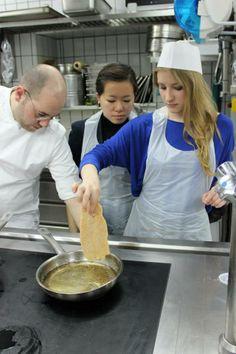 #student on #cookingschool