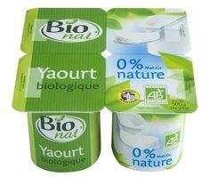 Yaourt nature 0% bio Bio nat'