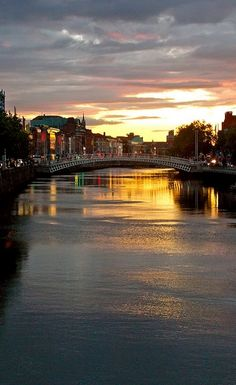 River Liffey, Dublin - Ireland