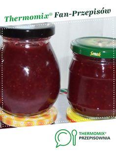 Konfitura malinowa jest to przepis stworzony przez użytkownika rozalika. Ten przepis na Thermomix<sup>®</sup> znajdziesz w kategorii Dodatki na www.przepisownia.pl, społeczności Thermomix<sup>®</sup>. Salsa, Food And Drink, Jar, Kitchen, Thermomix, Cooking, Kitchens, Salsa Music, Cuisine