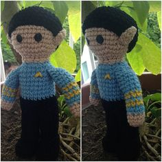 Ravelry: Spock Doll pattern by A Craft Thing