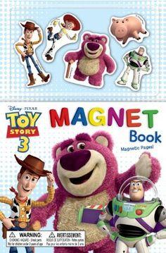Toy Story 3 Magnet Book (Disney/Pixar Toy Story 3) (Magnetic Play Book) by Disney/Pixar, http://www.amazon.com/dp/073642704X/ref=cm_sw_r_pi_dp_t-rOqb1519V8C