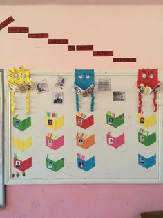 Classroom Board, Classroom Decor, Counting Activities, Classroom Activities, English Primary School, Mothers Day Flower Pot, Hindi Language Learning, Computer Basics, Flower Pot Crafts