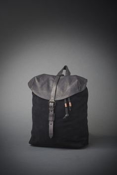 leather backpack/ lostboydesign    2015 collection