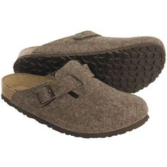 Birkenstock 'Boston' wool clogs