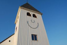 Smiling church in Sweden