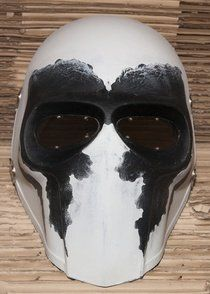 """Army of Two Custom Airsoft Mask and Prop Mask """" Flat Black # 2 """""""