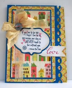 Card by Heather using Verve Stamps. #vervestamps.