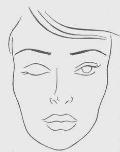 Por um Capricho: Croquis de Maquiagem