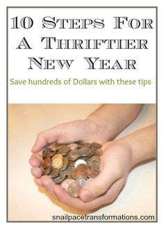 Follow these 10 steps and save 100's of dollars in the new year. Set yourself up for financial success.