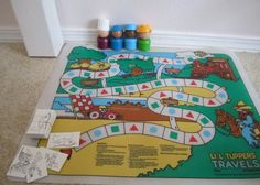 Tupperware Game - Rare lil tupppers board toy