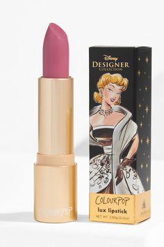 Colourpop x Disney Designer Collection Lux Lipstick in Cinderella Makeup Kit, Makeup Tools, Makeup Brushes, Beauty Makeup, Disney Princess Makeup, Disney Makeup, Cinderella Makeup, Cinderella Disney, Disney Disney